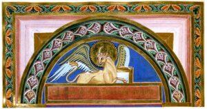 Echternacher Evangeliar: Detail