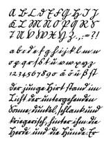 Currentschrift für Brause-Schreibbüchlein