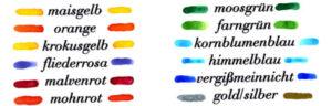Tinte in tausend Farben