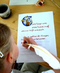 Handschreiben fördert die Feinmotorik