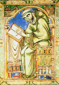 Schreibender Mönch
